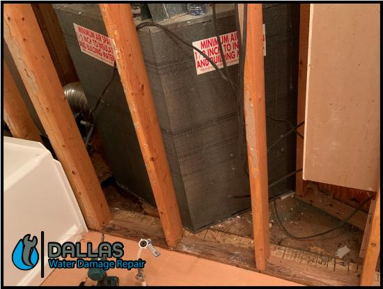 commercial restoration cleanup residential water damage removal dallas 110