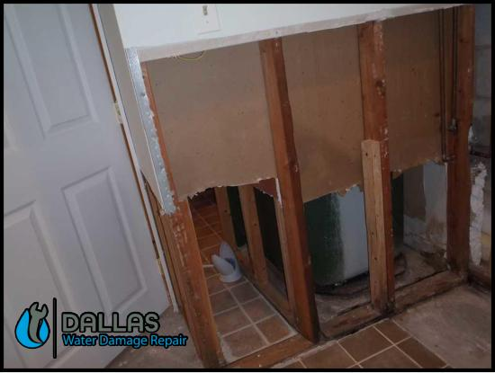 commercial restoration cleanup residential water damage removal dallas 120