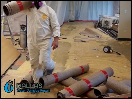 commercial restoration cleanup residential water damage removal dallas 147