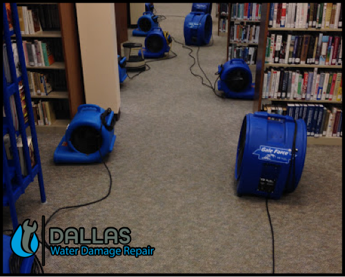 dallas water damage repair restoration commercial residential home office 38
