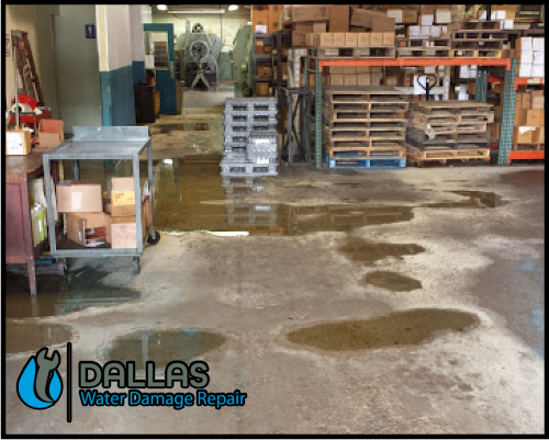 dallas water damage repair restoration commercial residential home office 40
