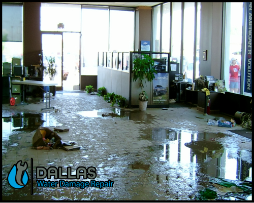 dallas water damage repair restoration commercial residential home office 49