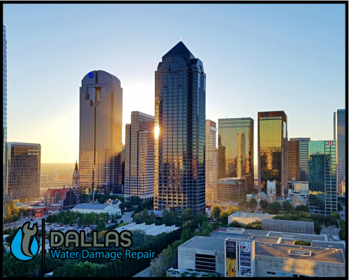 dallas water damage repair restoration commercial residential home office 69