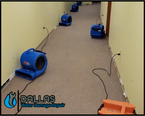 dallas water damage repair restoration commercial residential home office 92